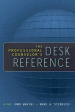 The Professional Counselor's Desk Reference : SPRINGER - Irmo Marini