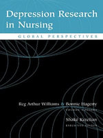 Depression Research in Nursing : Global Perspectives - Reg Arthur Williams