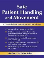 Safe Patient Handling and Movement : A Practical Guide for Health Care Professionals - Audrey L. Nelson