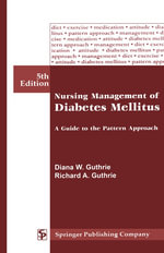 Nursing Management of Diabetes Mellitus : A Guide To the Pattren Approach - Diana Guthrie