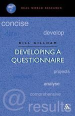 Developing a Questionnaire - Bill Gillham
