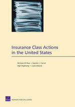 Insurance Class Actions in the United States - Nicholas M Pace