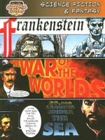 Science Fiction & Fantasy : Frankenstein/The War of the Worlds/20,000 Leagues Under the Sea