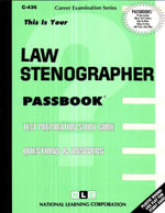 Law Stenographer - Jack Rudman
