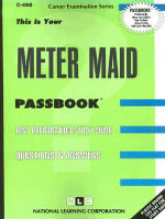 Meter Maid : Test Preparation Study Guide Questions & Answers - Jack Rudman