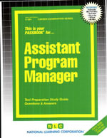Assistant Program Manager