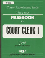 Court Clerk I - National Learning Corporation