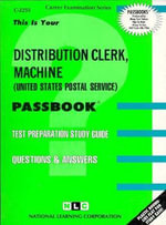 Distribution Clerk Machine (Usps) - Jack Rudman