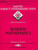 Business Mathematics - National Learning Corporation