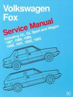 Volkswagen Fox Service Manual :  1987-1993