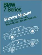 BMW 7 Series Service Manual 1988-1994 (E32) : 735i, 735L, 7401, 740iL & 750iL - Bentley Publishers