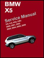 BMW X5 Service Manual 2000-2006 (E53) : 3.0i, 4.4i, 4.6is, 4.8is - Bentley Publishers