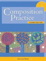 Composition Practice 1 : Bk. 1 - Linda P. Blanton