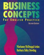 Business Concepts for English Practice : A Text for English Practice - Barbara Tolley Dowling