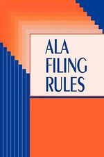 American Library Association Filing Rules - RTSD Filing Committee