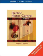 Electric Motor Control - Stephen L. Herman