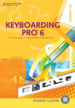 Keyboarding Pro 6, Student License (with User Guide ) : For Use With Keyboarding Course 18e: Lessons 1-25 - Susie Vanhuss