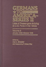 Germans to America (Series II), January 1846-October 1846 : Lists of Passengers Arriving at US Ports