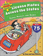 License Plates Across the States : Travel Puzzles and Games - Tony Tallarico
