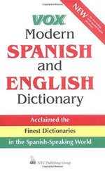 Vox Modern Spanish and English Dictionary : Lakota-English/English-Lakota - Vox