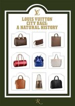 Louis Vuitton : City Bags - Marc Jacobs