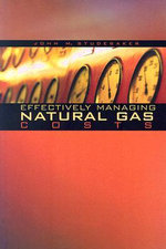 Effectively Managing Natural Gas Costs : Global Energy Policy and Economics - John M. Studebaker