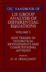 CRC Handbook of Lie Group Analysis of Differential Equations : v. 3 - Nail H. Ibragimov