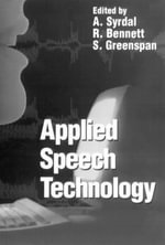 Applied Speech Technology - A. Syrdal