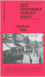 Watford 1896 : Hertfordshire Sheet 44.02 - Mary Forsyth