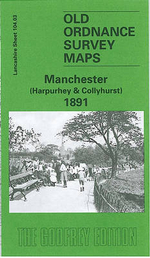 Manchester (Harpurley and Colleyhurst) 1891 : Lancashire Sheet 104.03 - Chris Makepeace