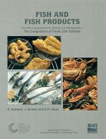 Fish and Fish Products : Supplement to the Composition of Foods :  Supplement to the Composition of Foods - Robert Alexander McCance