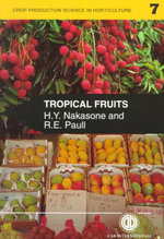 Tropical Fruits : Cab International Publication - H. Nakasone