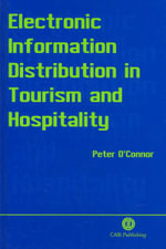 Electronic Information Distribution in Tourism and Hospitality - Peter O'Connor