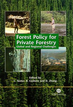 Forest Policy for Private Forestry : Global and Regional Challenges