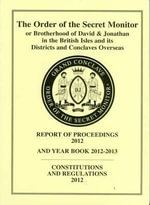 Order of the Secret Monitor Report of Proceedings and Yearbook 2013