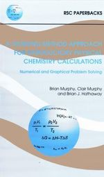A Working Method for Physical Chemistry Calculations - Brian J. Hathaway
