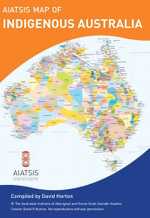 Aboriginal Australia Wall Map - Aboriginal Studies Press