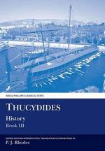 History : Bk. 3 - Thucydides