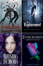 YA Dark Romance Boxed Set : Hush, Hush / The Replacement / Evercrossed / Hex Hall: Raising Demons - Becca Fitzpatrick