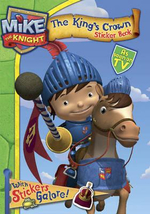 Mike the Knight Sticker Book : Mike the Knight Series - Simon & Schuster