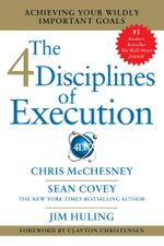 4 Disciplines of Execution - Sean Covey