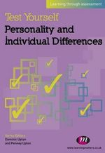 Test Yourself: Personality and Individual Differences : Learning Through Assessment