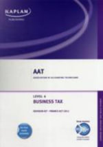 Business Tax (FA 2011) - Revision Kit - Ronald W Dudek