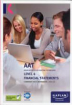 Financial Statements - Combined Text and Workbook : Level 4 -  Kaplan Publishing