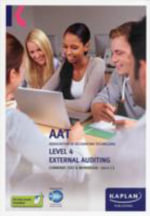 External Auditing - Combined Text and Workbook : Level 4 -  Kaplan Publishing