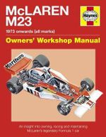 McLaren M23 : 1973 Onwards (All Marks) - Ian Wagstaff