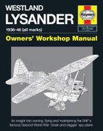Westland Lysander Manual - Edward Wake-Walker