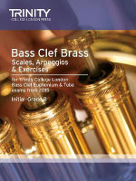 Brass Scales & Exercises : Bass Clef from 2015: Grades 1 - 8