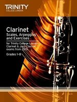 Clarinet & Jazz Clarinet Scales & Arpeggios from 2015 : Grades 1 - 8