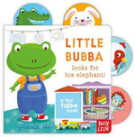 Little Bubba Looks for His Elephant : Tiny Tabs Series : Book 3 - Jannie Ho
